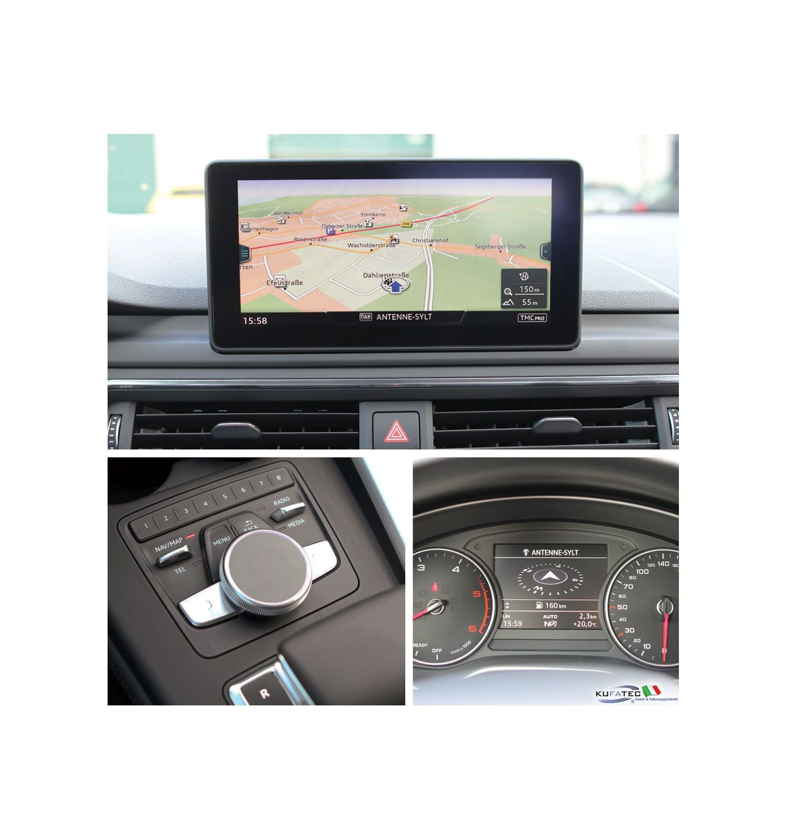 retrofit kit mmi navigation plus with mmi touch audi a5 f5. Black Bedroom Furniture Sets. Home Design Ideas