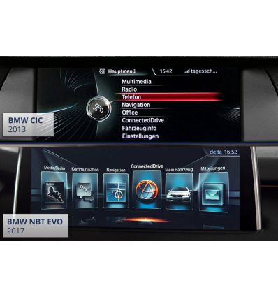 Video in Motion - BMW CIC & CIC NBT Professional F-Series - OBD