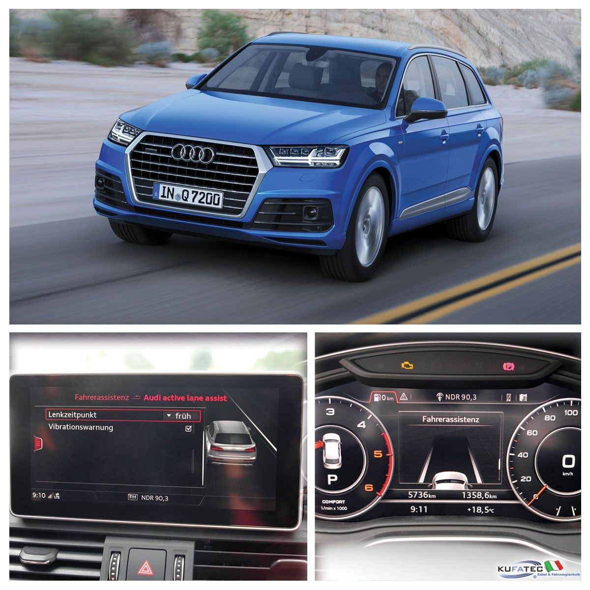 Active Lane Assist For Audi Q7 4M