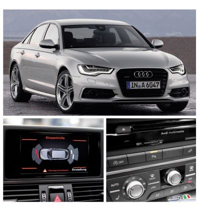 APS Parking System Plus - Ant. & Post. incl. grafica - Retrofit kit - Audi A6 4G