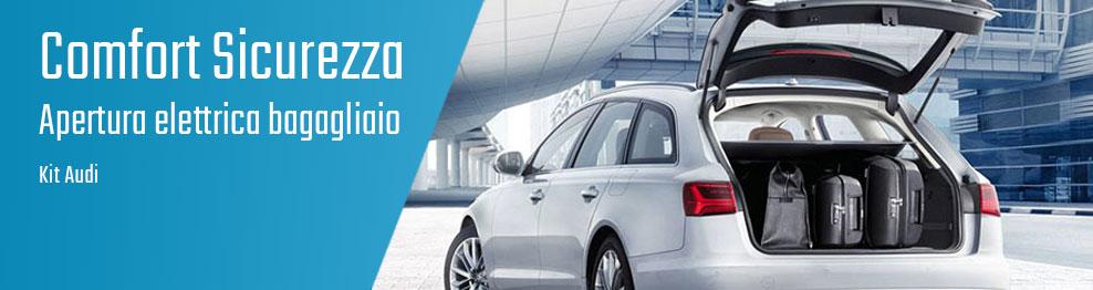 06.01.01 Apertura elettrica bagagliaio - Kit Audi