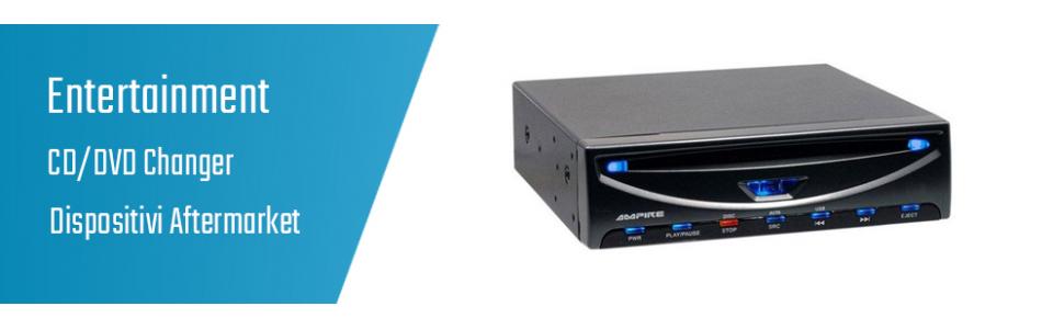 03.03.54 CD/DVD Changer - Dispositivi Aftermarket
