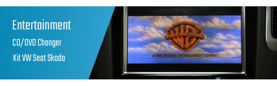 03.03.02 CD/DVD Changer - Kit VW Seat Skoda