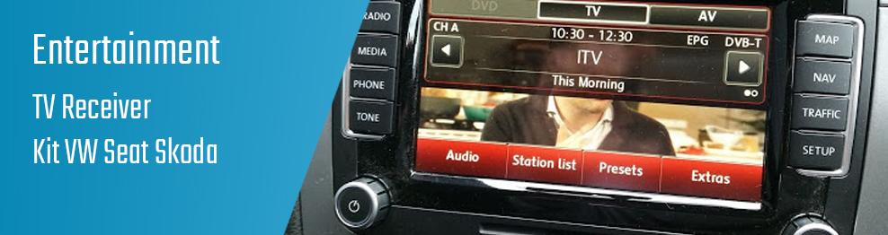 03.07.02 TV Receiver - Kit VW Seat Skoda