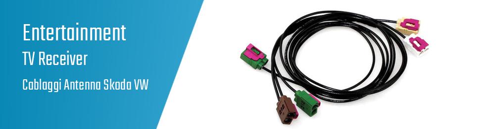 03.07.09 TV Receiver - Cablaggi Antenna Skoda VW