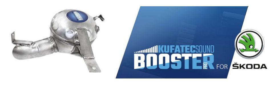 Sound Booster PRO - Skoda