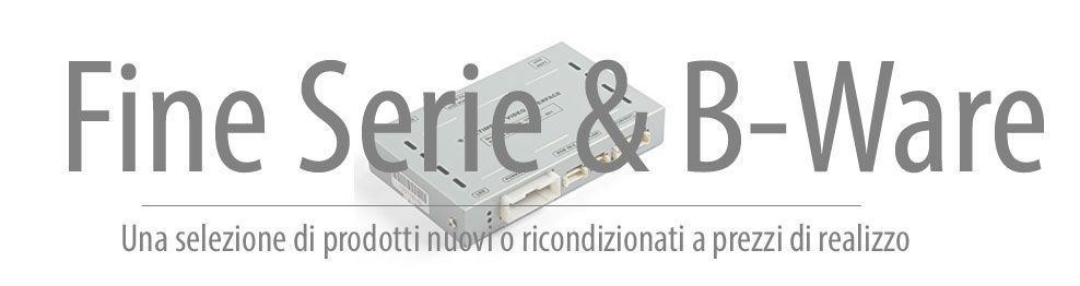 03.12.51 Video Interface - Fine serie & B-Ware