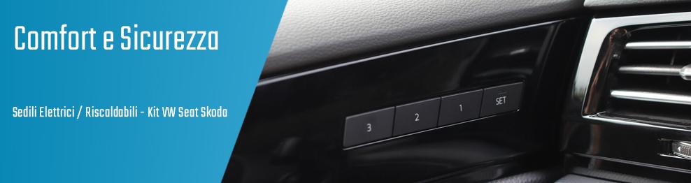 06.05.02 Sedili Elettrici / Riscaldabili - Kit VW Seat Skoda