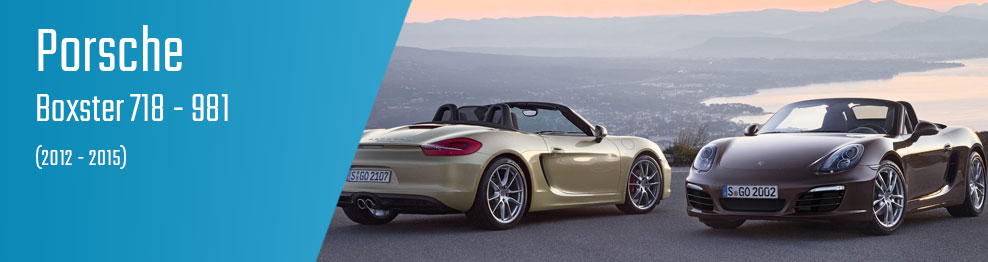 Boxster 718 - 981 (2012 - 2015)