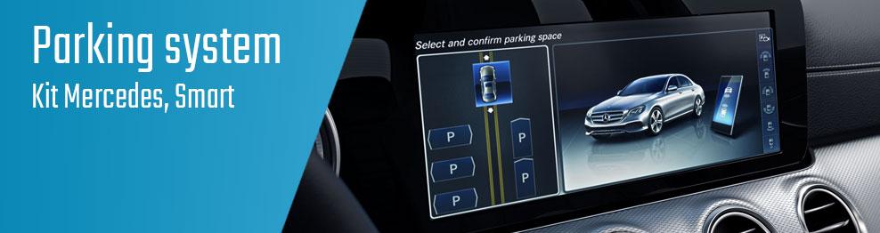 04.01.02 Parking system - Kit Mercedes, Smart
