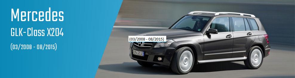 GLK-Class X204 (03/2008 - 08/2015)