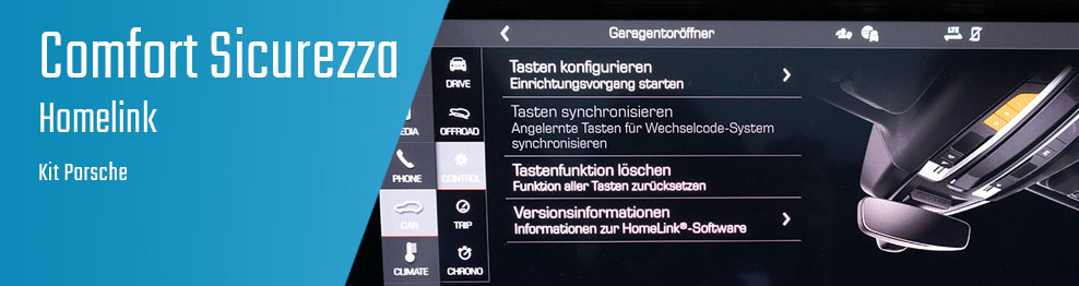 06.08.02 Homelink - Kit Porsche