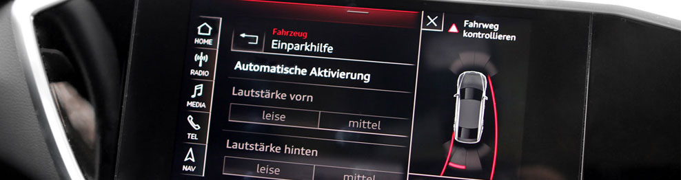 04.01.01 Parking system - Kit Audi