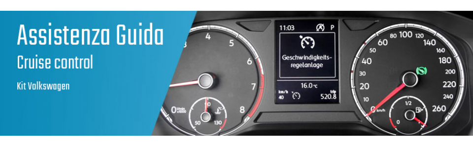04.03.02 Cruise control - Kit Volkswagen