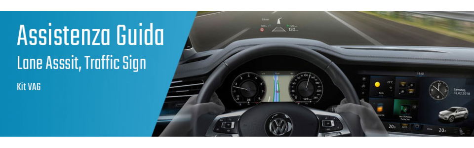 04.07.01 Lane Assist, Traffic Sign - Kit Audi