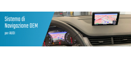 01.01 Navigazione Audi OEM