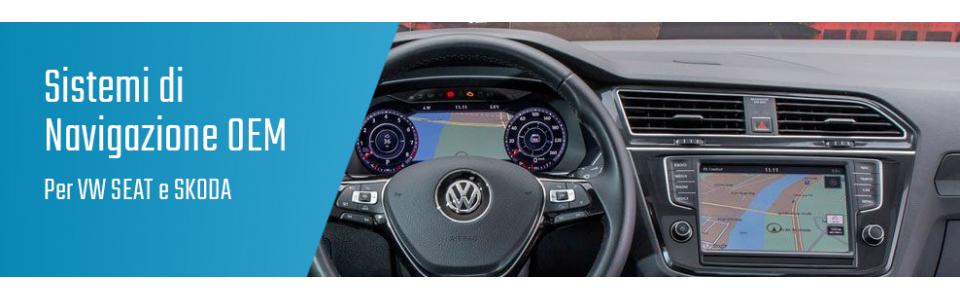 01.03 Navigazione VW Seat Skoda OEM
