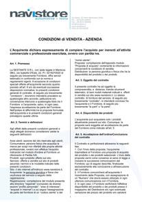 Termini e condizioni Aziende 2014